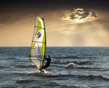 voile sur la mer