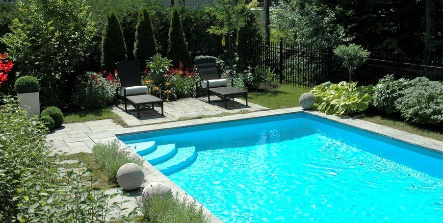 piscine dans son jardin